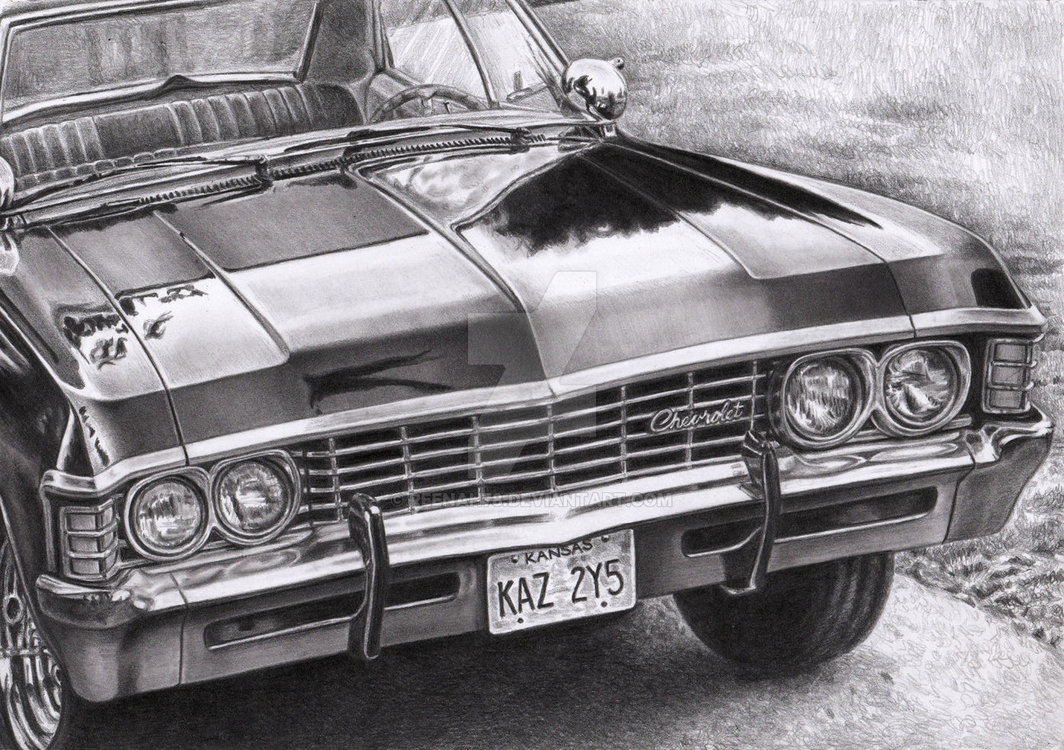 http://www.thewinchesterfamilybusiness.com/images/DiscussionPage/Season12/Episodes_21to23/supernatural_dean_s_chevy_impala_by_reenah78-d9nes1i.jpg