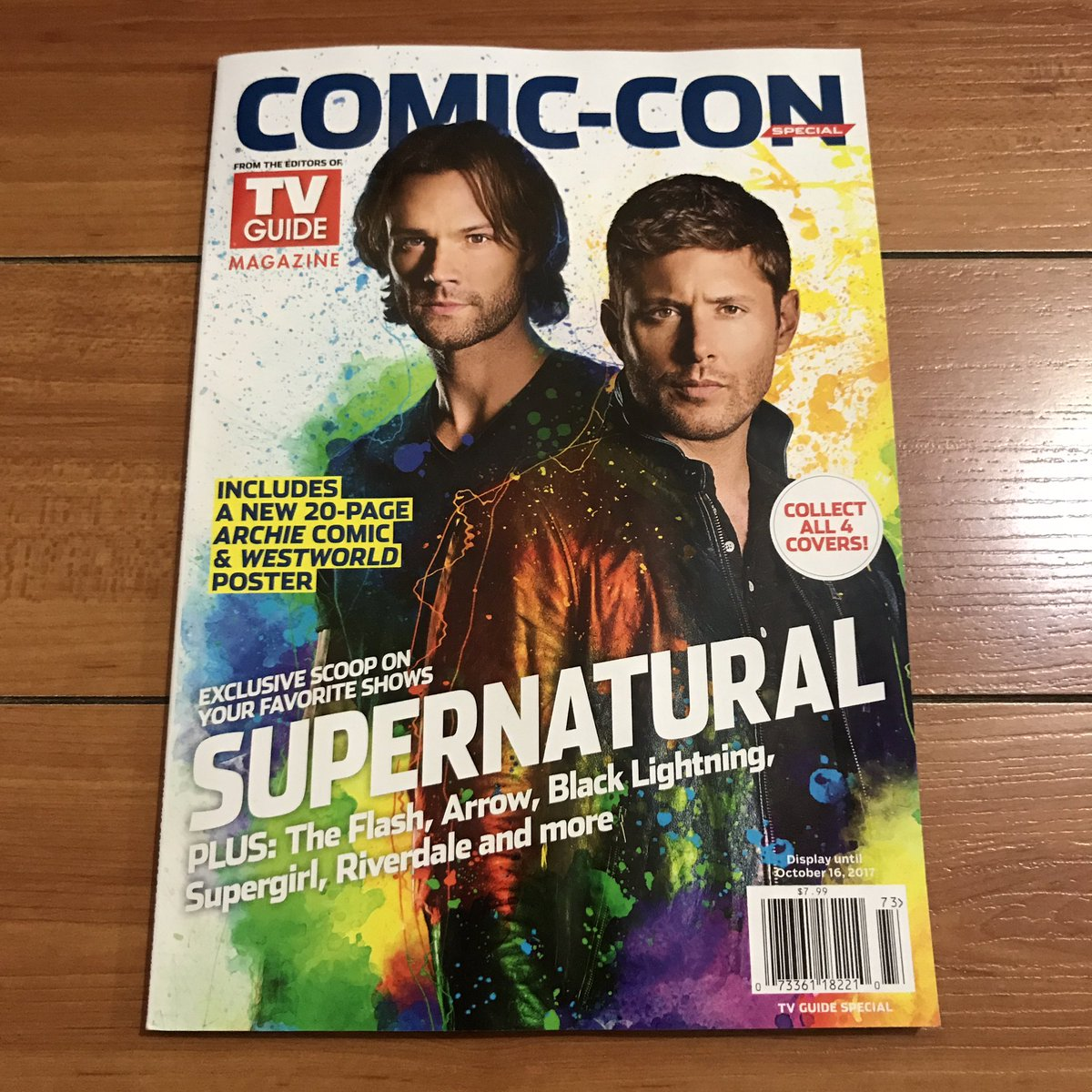 SDCC SPN TV Guide 2017