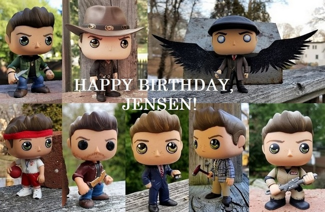 Jensen B.Day Lisa Funko Pops