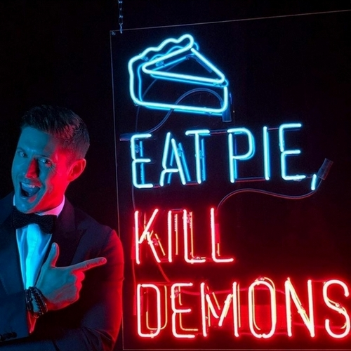 Jensen Eat Pie Kill Demons