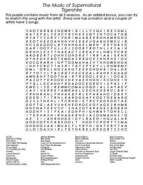 SupernaturalMusicWordSearch