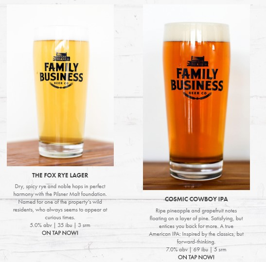 Family Business Beers