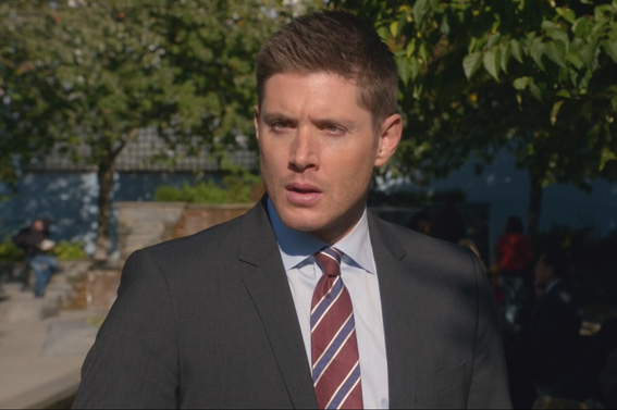 11x09 O Brother Dean meets Amara at park2 SPN