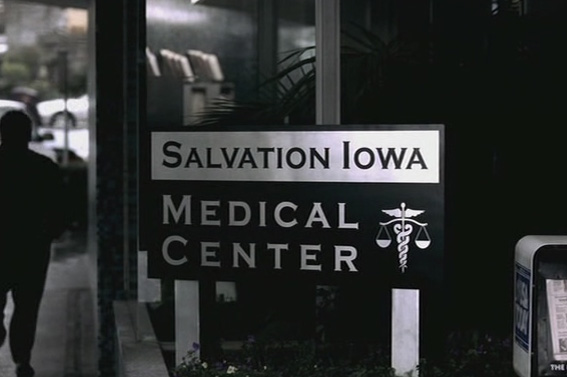 1x21 Salvation Sam leaves hospital SPN