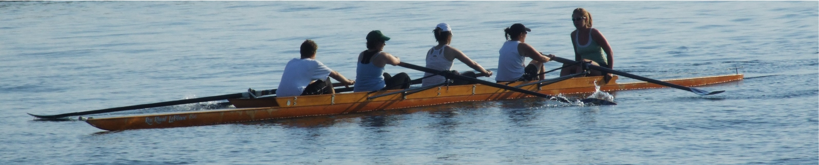Toronto female rowing team
