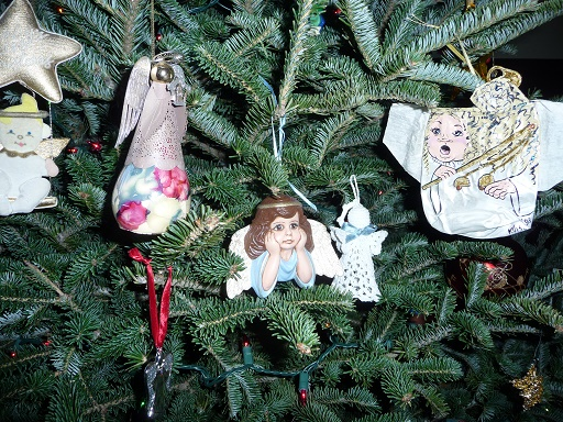 Angel ornaments 770