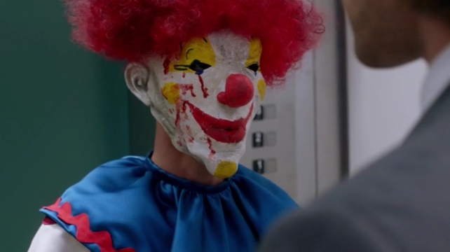 s11e07 353 Clown Confrontation