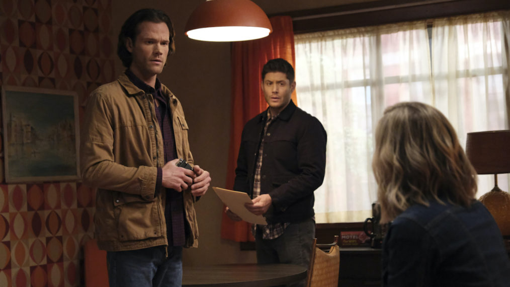 Sam And Dean with Folder