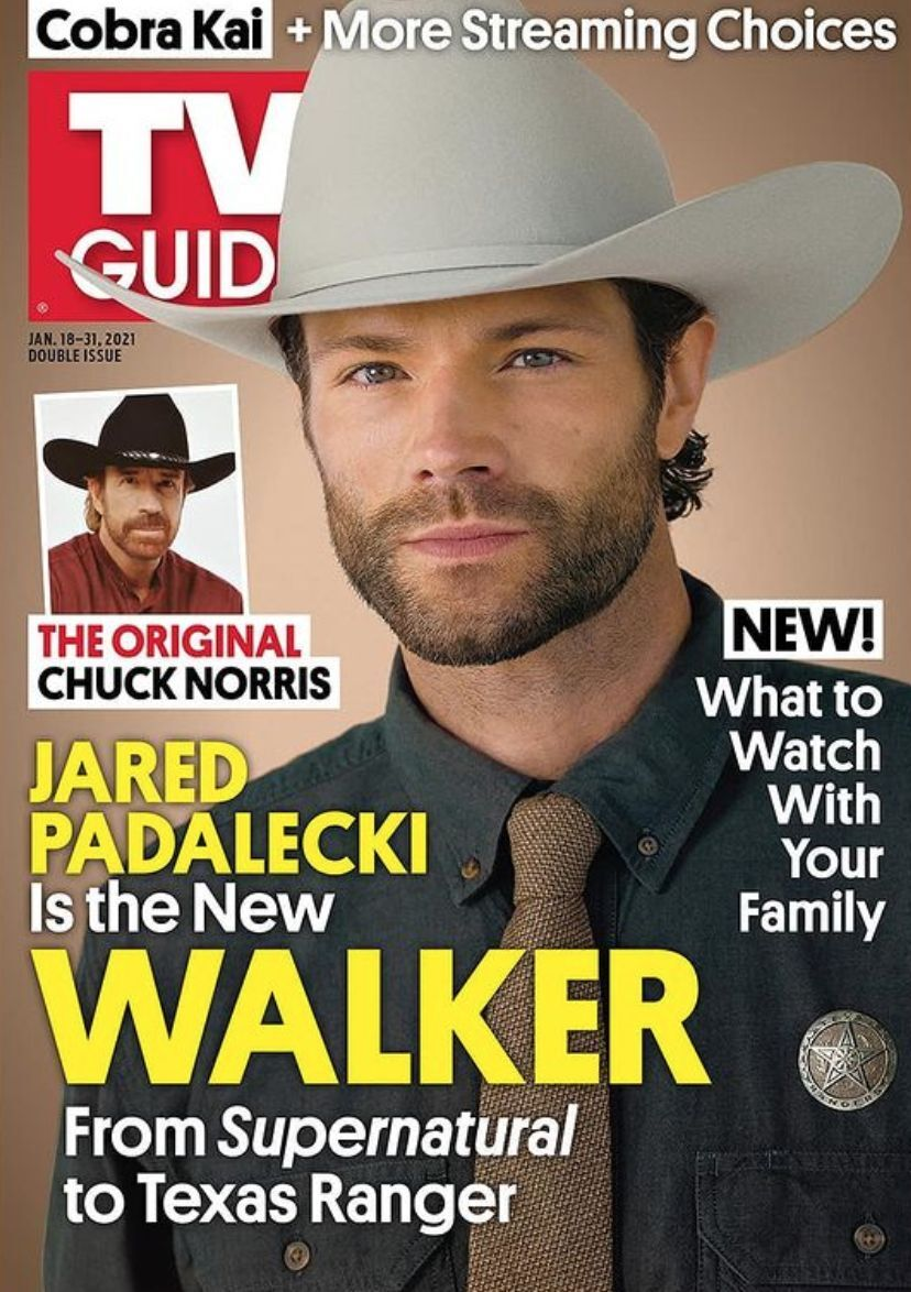Walker tv guide cover