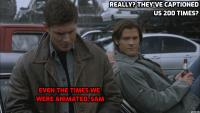 Supernatural Caption this! #200 - THE WINNERS