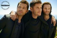 Entertainment Weekly's Supernatural Cover Shoot - Updated!